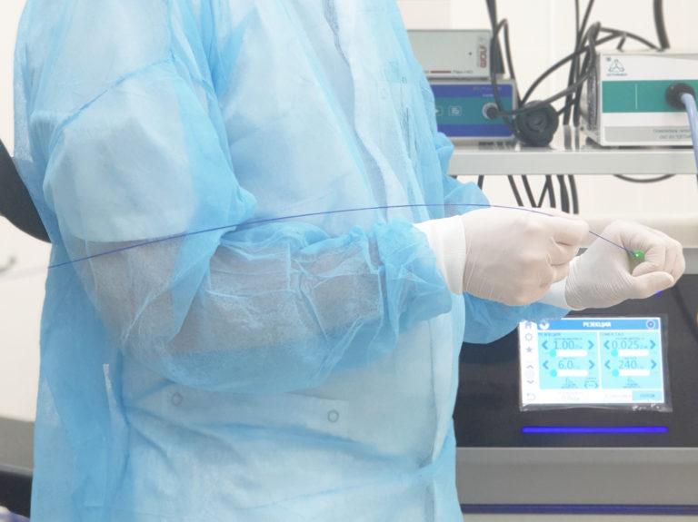 Лазерное лечение геморроя